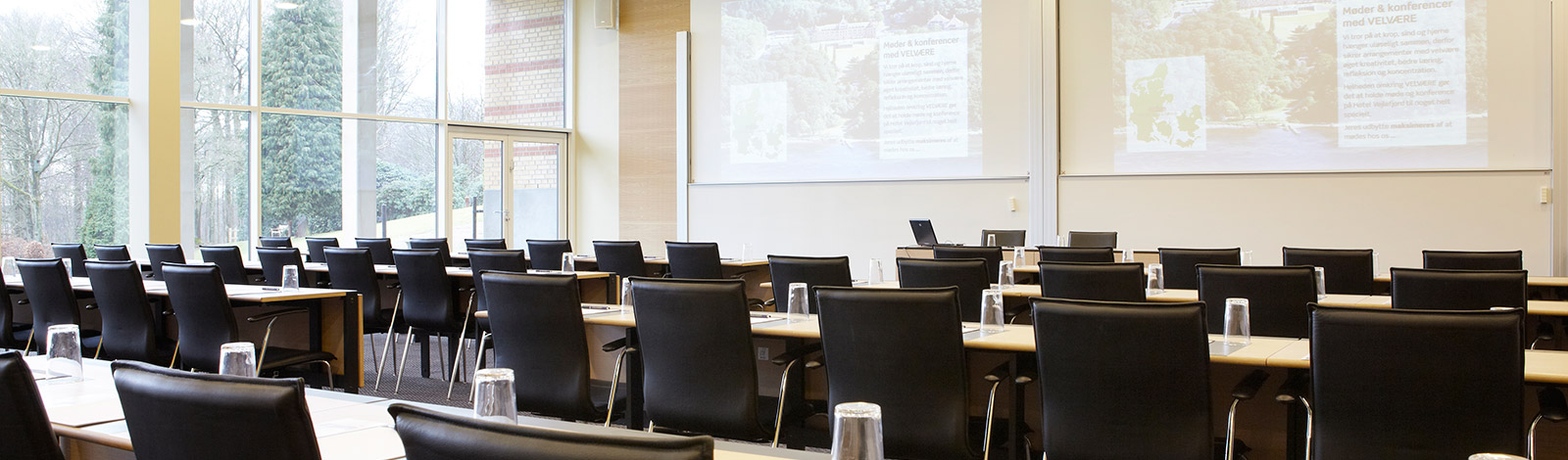 """Kongesalen"" is our largest room for both exhibition and conference tables"