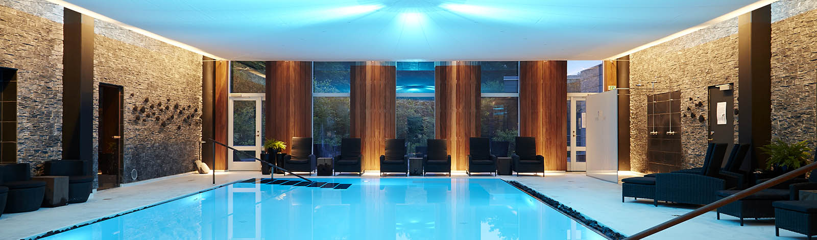 Try the fantastic salt bath in the Thalasso spa